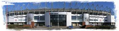 Pride Park Stadium - Home of D.C.F.C.